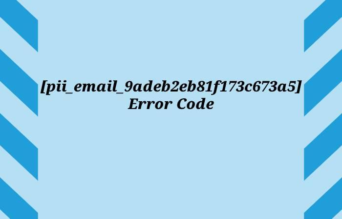 [pii_email_9adeb2eb81f173c673a5] - pii_email_9adeb2eb81f173c673a5